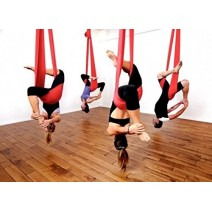 Premium Aerial Yoga - with Swing Action (strachable)