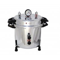 "Aluminium Mirror Finish Electric Autoclave Pressure Cooker Type (12"" X 12"") 23 Litres with Warranty"