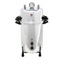 "Aluminium Mirror Finish Electric Autoclave Pressure Cooker Type (12"" X 22"") 40 Litres with Warranty"