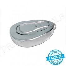 Seamless Stainless Steel Female Bedpan
