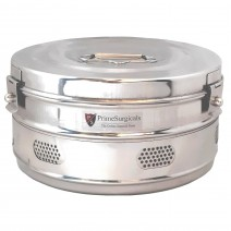 """Dressing Drum - Deluxe Quality Stainless Steel - 9"""" x 5"""""""