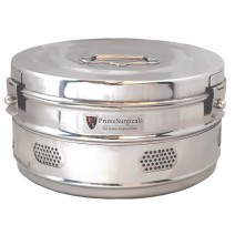 """Dressing Drum - Economy Quality Stainless Steel - 11"""" x 5"""""""