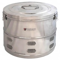 """Dressing Drum - Economy Quality Stainless Steel - 12"""" x 10"""""""