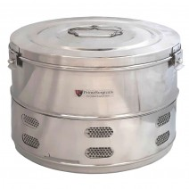 """Dressing Drum - Economy Quality Stainless Steel - 14"""" x 10"""""""