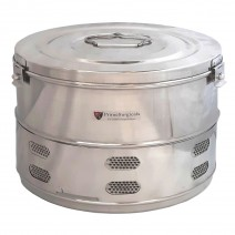 """Dressing Drum - Economy Quality Stainless Steel - 14"""" x 9"""""""