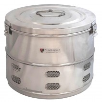 """Dressing Drum - Economy Quality Stainless Steel - 15"""" x 12"""""""
