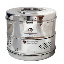 """Dressing Drum - Economy Quality Stainless Steel - 8"""" x 6"""""""