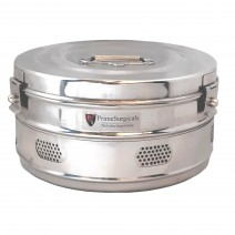 """Dressing Drum - Economy Quality Stainless Steel - 9"""" x 5"""""""