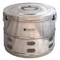 "Dressing Drum - Premium Quality Stainless Steel - 11"" x 9"""