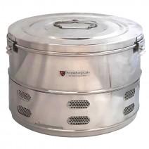 "Dressing Drum - Premium Quality Stainless Steel - 14"" x 9"""