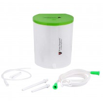 Enema PVC can/Kit for Home use with user Manual
