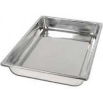 """Deep Tray – Deluxe Quality Stainless Steel – 12"""" x 6"""" x 2.75"""""""