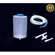 Plastic Enema PVC Kit with Colon Tip (1 Ltr)