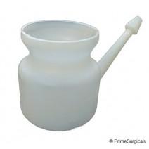 Plastic Jal Neti, 450ml (White)