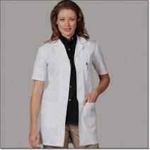 Woman Doctor's Half Sleeve Lab Apron - 100% Cotton