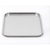 "Mayo Table Tray Deluxe Quality Stainless Steel 18"" X 12"""