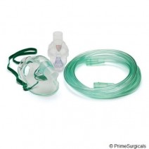 Nebulizer face mask kit